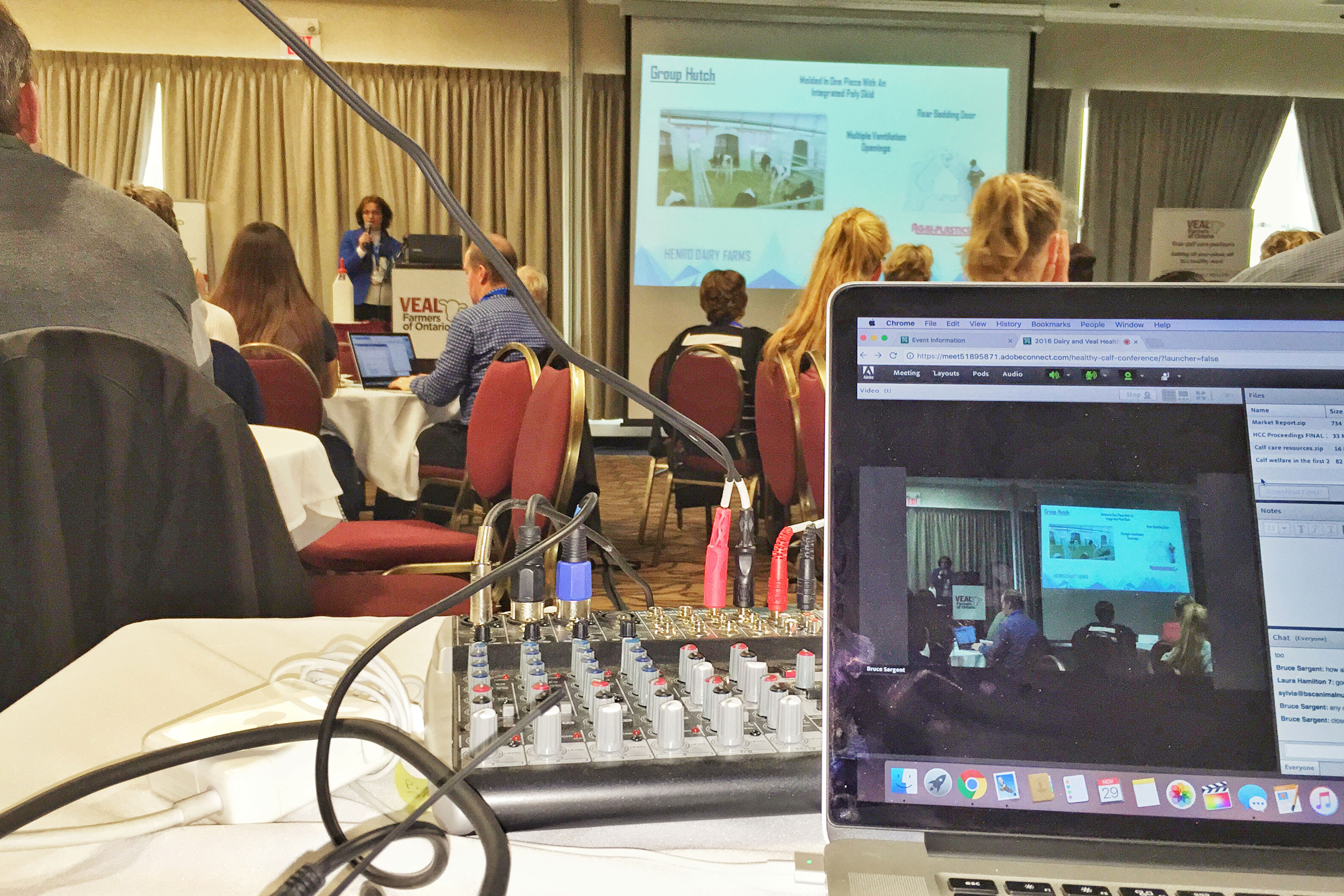 Live streaming from VFO meeting